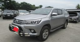 REVO 4WD 2015 2.8G AT DOUBLE CAB SILVER 3397