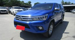 REVO 4WD 2017 2.8G AT DOUBLE CAB BLUE 7720