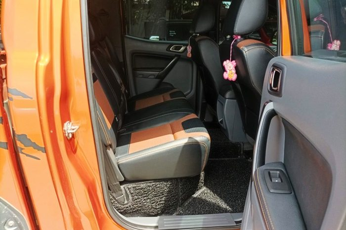 FORD 4WD 2018 3.2 AT DOUBLE CAB ORANGE 2622 full