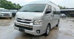 TOYOTA 2WD 2014 2.5 MT COMMUTER SILVER 6102