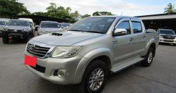 VIGO 4WD 2012 3.0G AT DOUBLE CAB SILVER 7840