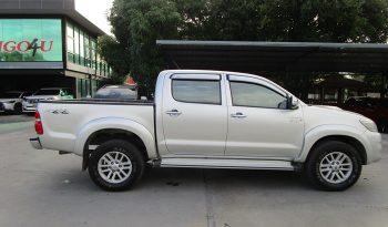 VIGO 4WD 2012 3.0G AT DOUBLE CAB SILVER 7840 full