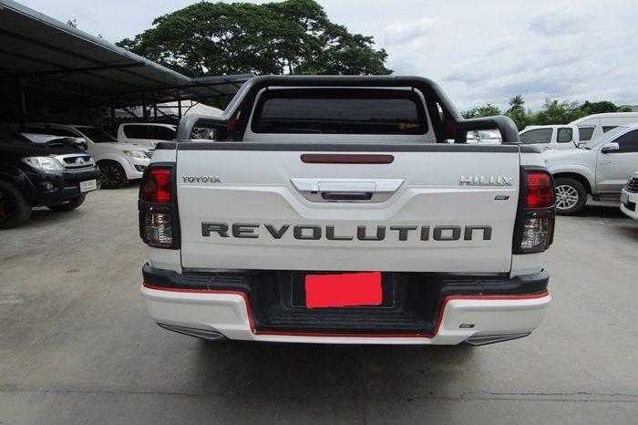 REVO 4WD 2017 2.8G MT DOUBLE CAB WHITE 2200 full
