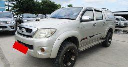 VIGO 4WD 2009 3.0G AT DOUBLE CAB SILVER 9124