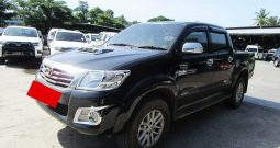 VIGO 4WD 2012 3.0G AT DOUBLE CAB BLACK 2456