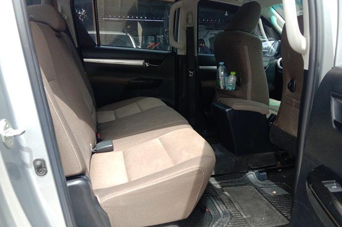 REVO 2WD 2017 2.4E MT DOUBLE CAB SILVER 7592 full