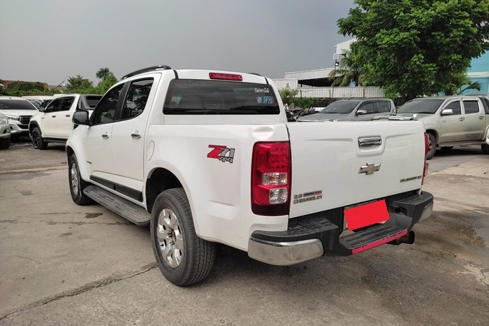 CHEVROLET 4WD 2014 2.8 AT DOUBLE CAB WHITE 6606 full