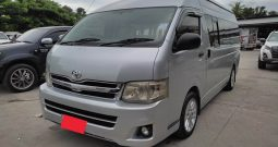 TOYOTA 2WD 2014 2.5 MT COMMUTER SILVER 7473