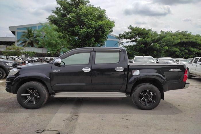 VIGO 2WD 2014 2.5E AT DOUBLE CAB BLACK 8375 full