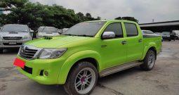 VIGO 4WD 2012 2.5E MT DOUBLE CAB GREEN 9983